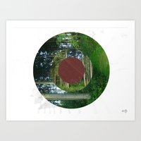 Turning Circles 2 Art Print