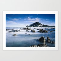 Long Exposure Seascape Art Print
