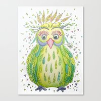 Forest's Owl Canvas Print
