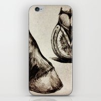 Horse Feet iPhone & iPod Skin