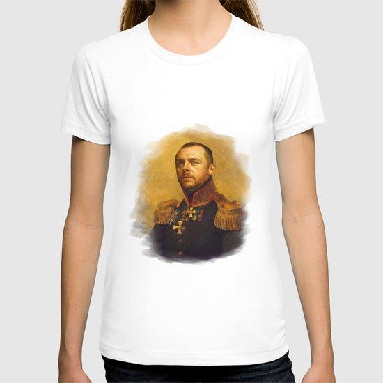 Simon Pegg - replaceface T-shirt