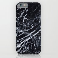 Real Marble Black iPhone 6 Slim Case