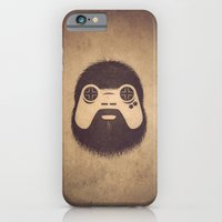 iPhone & iPod Case featuring The Gamer by powerpig