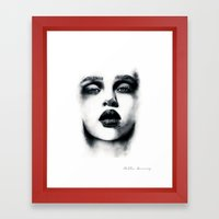 Charcoal  Framed Art Print