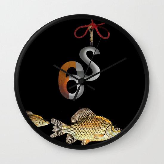 S6 Tee Wall Clock