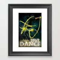 Flash Dance Framed Art Print