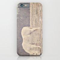 Pretty White Pony  iPhone 6 Slim Case