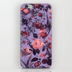 Romantic Floral Pattern iPhone & iPod Skin