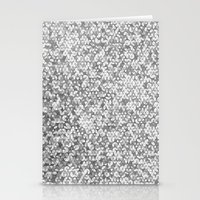 Metallic (Silver) Stationery Cards