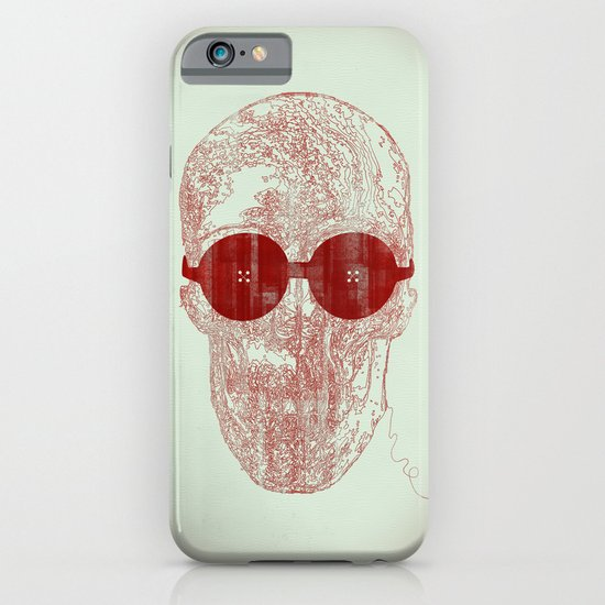 Unravel skull iPhone & iPod Case