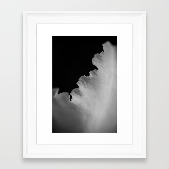 On The Edge Framed Art Print