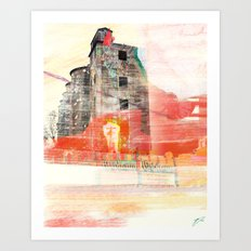 Oh the Remnants Art Print