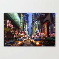 'Times Square NYC' Canvas Print
