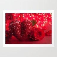 Loving Rose Art Print