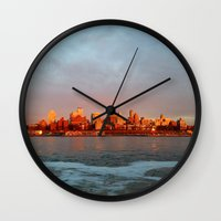 Brooklyn Heights Wall Clock