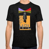 Hal Mens Fitted Tee Tri-Black SMALL