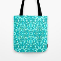 Cut Paper Tote Bag