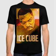 Ice Cube SMALL Black Mens Fitted Tee