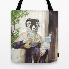 The Sheep Spinner Tote Bag
