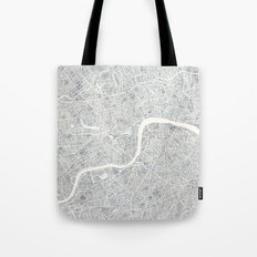 City Map London watercolor map  Tote Bag
