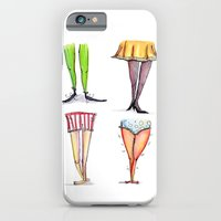 iPhone & iPod Case featuring Legwork Squared by mendydraws