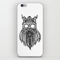 Viking Cat iPhone & iPod Skin