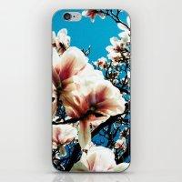 Magnolia details iPhone & iPod Skin