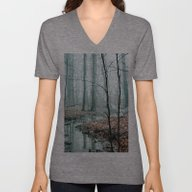 Unisex V-Neck featuring Gather Up Your Dreams by Olivia Joy StClaire