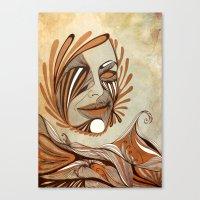 The Sea & The Sun Canvas Print