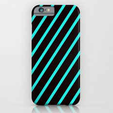 Blue & Black Stripes Slim Case iPhone 6s
