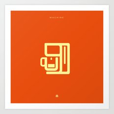 Coffee: The Machine Art Print