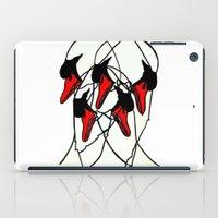 Moving Swan iPad Case