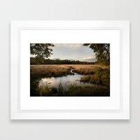 Oaks Bottom Wildlife Ref… Framed Art Print