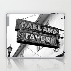 Old tavern sign Laptop & iPad Skin