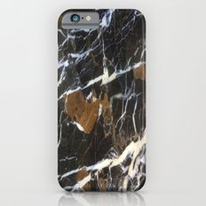 Stylish Polished Black Marble Slim Case iPhone 6s