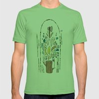 The End Mens Fitted Tee Grass SMALL
