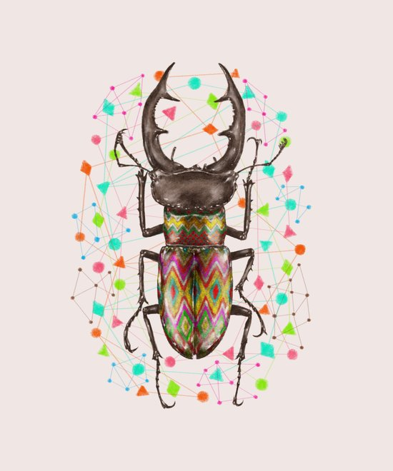 INSECT IV Art Print