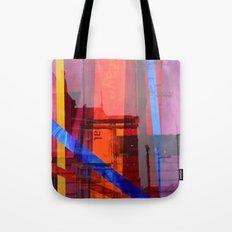 Distortion 3 Tote Bag