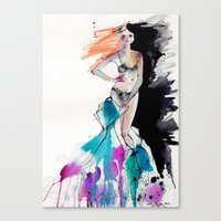 Strip Canvas Print