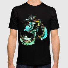 Ohm Mens Fitted Tee Black SMALL