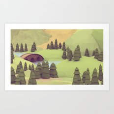 Hobbiton [Alternate #02] Art Print