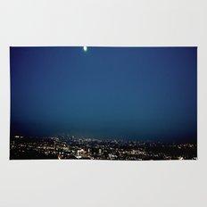 l.a. blur Rug