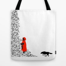 Little Red Tote Bag