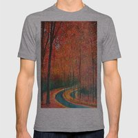 Beautiful Colors Of Autu… Mens Fitted Tee Athletic Grey SMALL