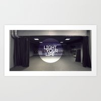 Light Your Life Art Print