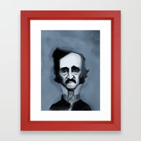 Mr. Alan Poe Framed Art Print