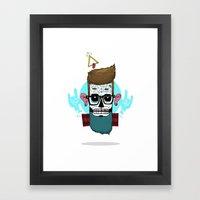Sugar Hip Framed Art Print