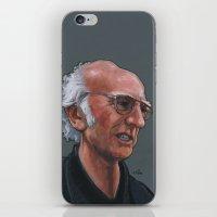 Larry David iPhone & iPod Skin