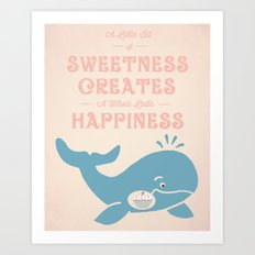 A Little Sweetness Art Print