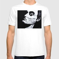 I See You By D. Porter Mens Fitted Tee White SMALL